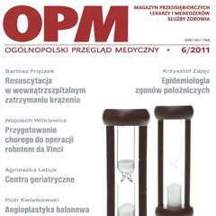 2011 – Centra geriatryczne –przyszłość dla starzejącego się społeczeństwa XXI wieku?