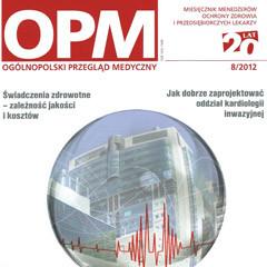 2012 – Jak dobrze zaprojektować oddział kardiologii inwazyjnej?