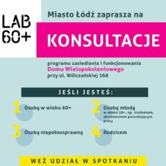 2018 – Programu zasiedlenia i funkcjonowania Domu Wielopokoleniowego w Łodzi